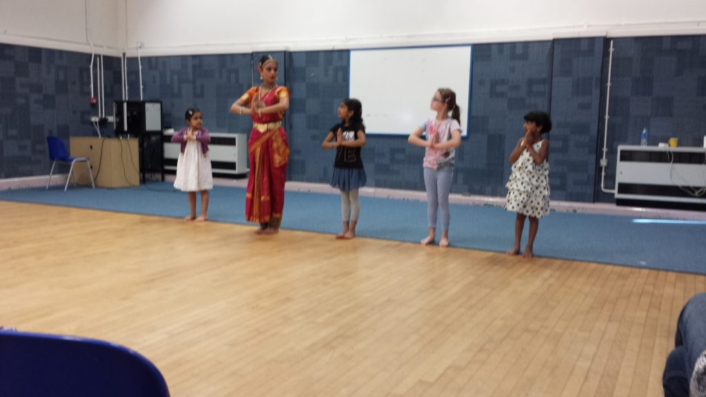 Kuchupudi Dance Workshop