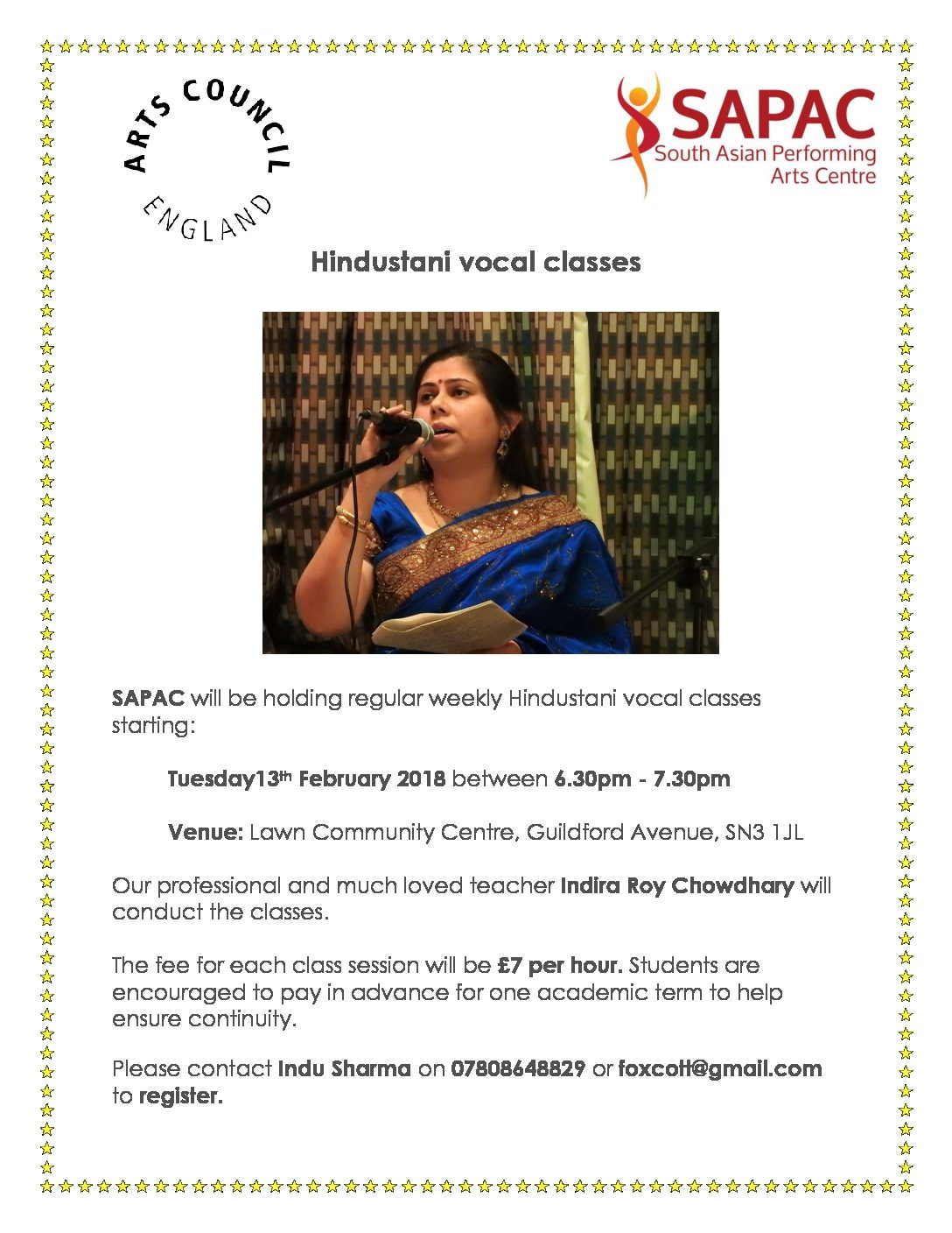 Hindustani Vocal Classes